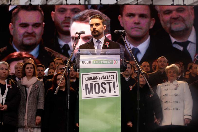 Lider Jobbiku Gabor Vona /AFP