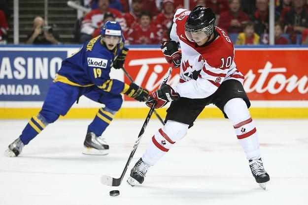 Lider klasyfikacji kanadyjskiej turnieju Brayden Schenn /AFP