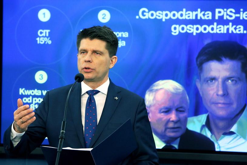 Lider Nowoczesnej Ryszard Petru /Tomasz Gzell /PAP