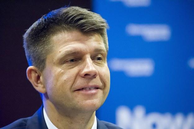 Lider Nowoczesnej Ryszard Petru /Wojciech Stróżyk /Reporter