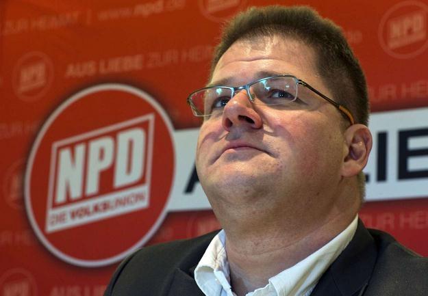Lider NPD Holger Apfel /AFP