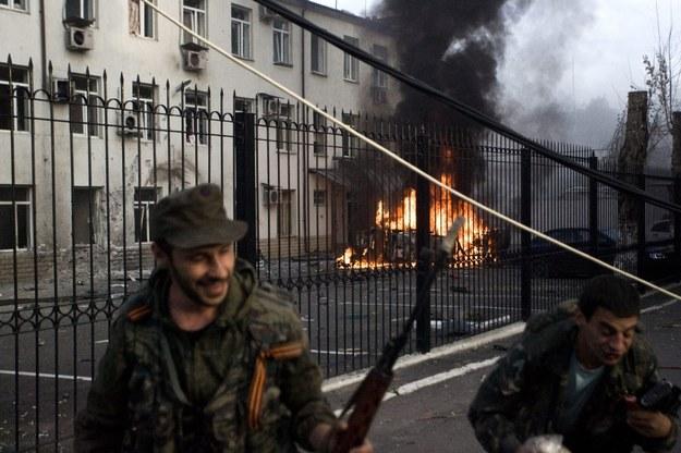 Lider rebeliantów żąda złożenia broni przez żołnierzy Ukrainy