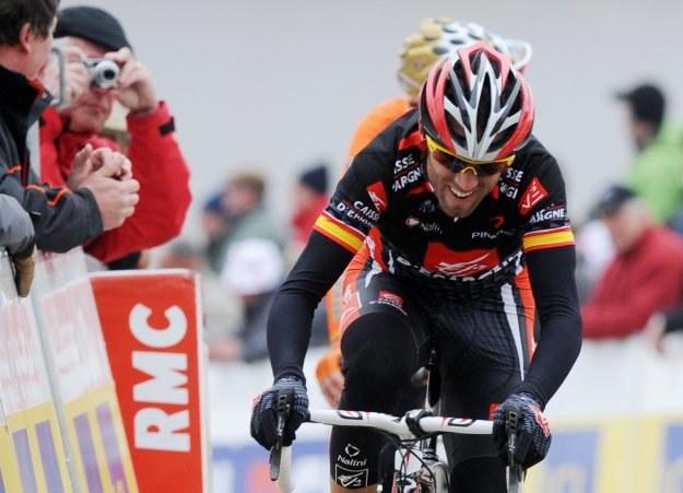 Lider wyśćigu - Alejandro Valverde /AFP