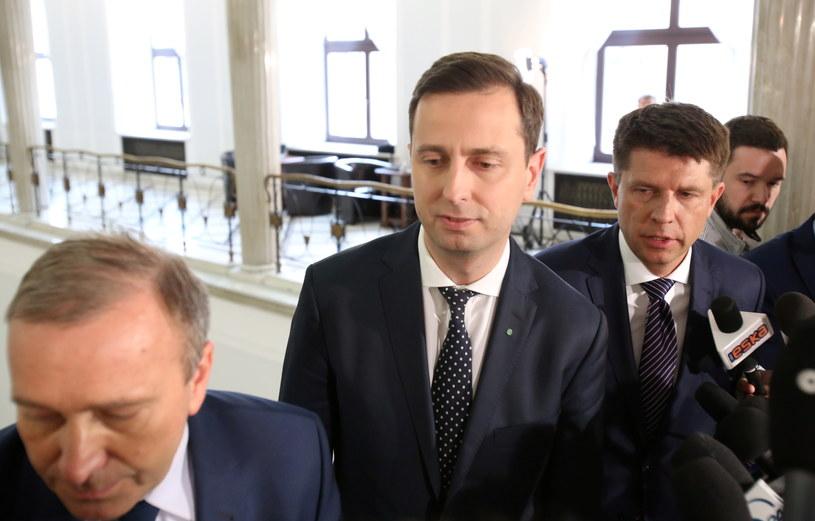 Liderzy partii opozycyjnych /Leszek Szymański /East News