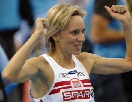 Lidia Chojecka wywalczyła w Birmingham dwa złote medale /AFP