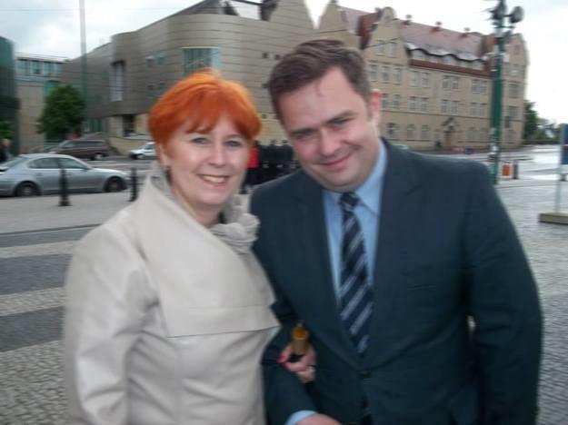 Lidia Dudziak i Adam Hofman /Facebook