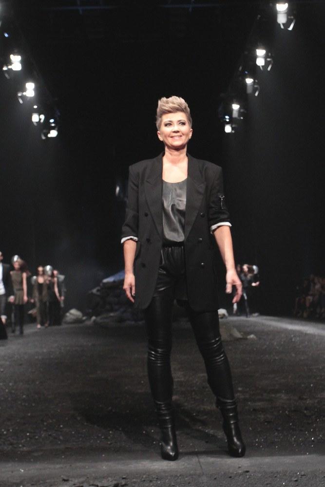 Lidia Kalita po jednym ze swoich pokazów /Paweł Wrzecion /East News