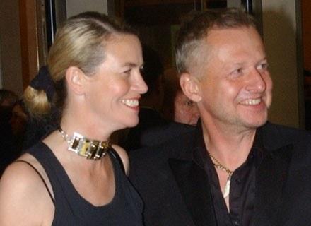 Lidia Popiel i Bogusław Linda /MWMedia