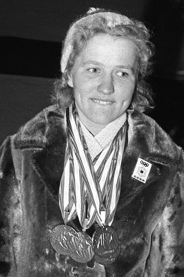 Lidia Skoblikowa zdobyła w Innsbrucku cztery złote medale /AFP