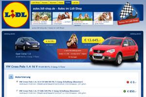Lidl sprzedaje auta dla ludu /