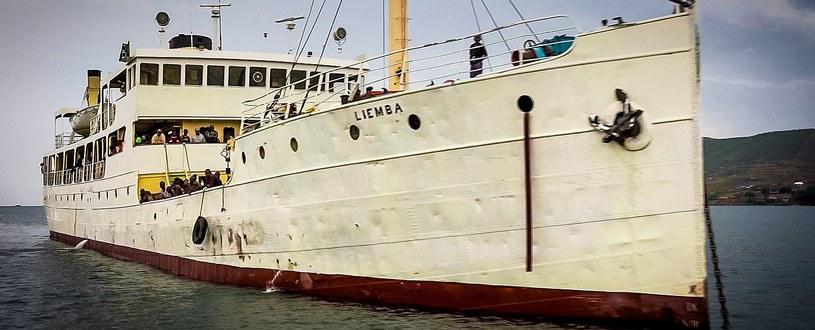 """""""Liemba"""" współcześnie, czyli była niemiecka kanonierka """"Graf von Götzen"""" /INTERIA.PL/materiały prasowe"""