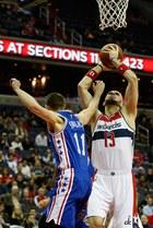 Liga NBA - Gortat szósty wśród najcelniej rzucających z gry
