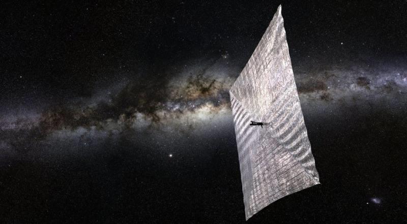 LightSail-1 / Foto: Planetary Society /Kosmonauta