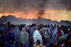 """Likwidacja """"dżungli"""" w Calais. """"Pożar wybuchnie w innym miejscu"""""""