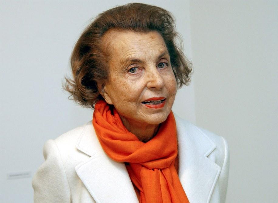 Liliane Bettencourt /HORST OSSINGER  /PAP/EPA