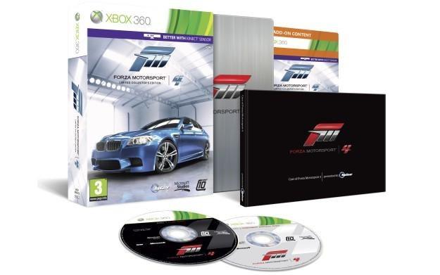 Limitowana edycja gry Forza Motorsport 4 - zdjęcie /Informacja prasowa