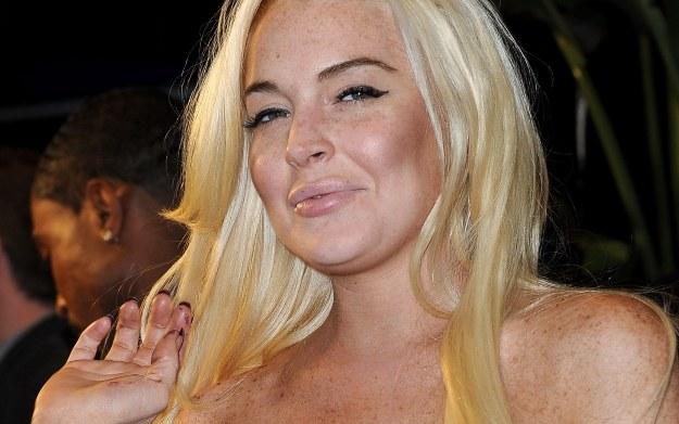 Lindsay Lohan we własnej osobie /AFP