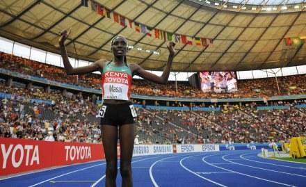 Linet Chepkwemoi Masai - złota medalistka mistrzostw świata /AFP