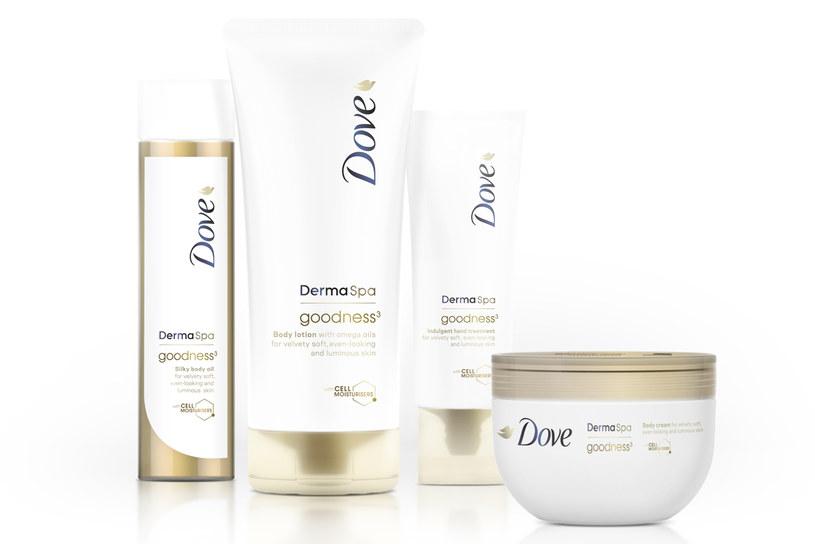 Linia Dove DermaSpa Goodness3 /materiały prasowe