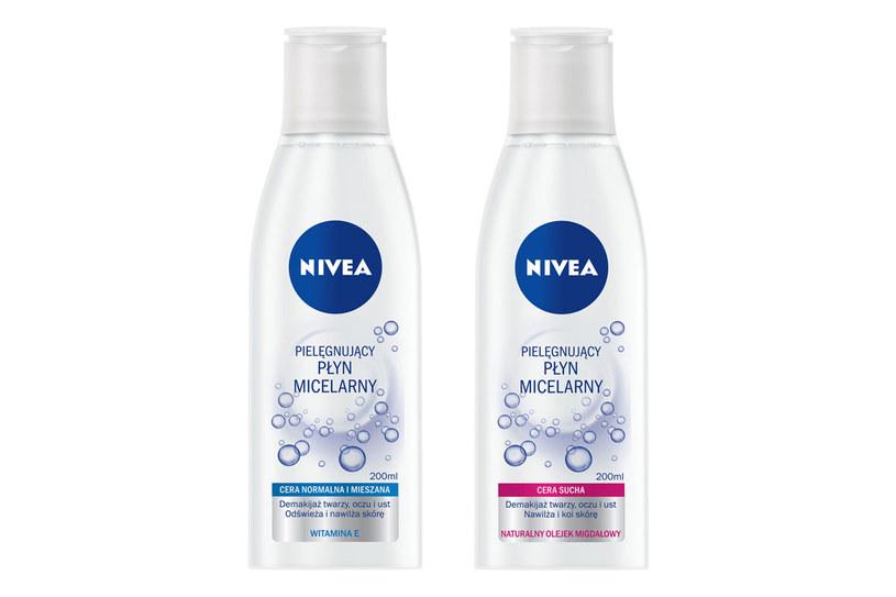 Linia NIVEA płyny micelarne do skóry suchej oraz normalnej i mieszanej /Styl.pl/materiały prasowe