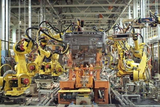 Linia produkcyjna fabryki (kliknij) /INTERIA.PL