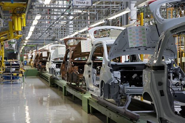 Linia produkcyjna forda B-max w Rumunii /