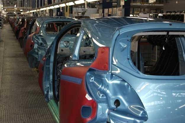 Linia produkcyjna forda ka w Tychach /