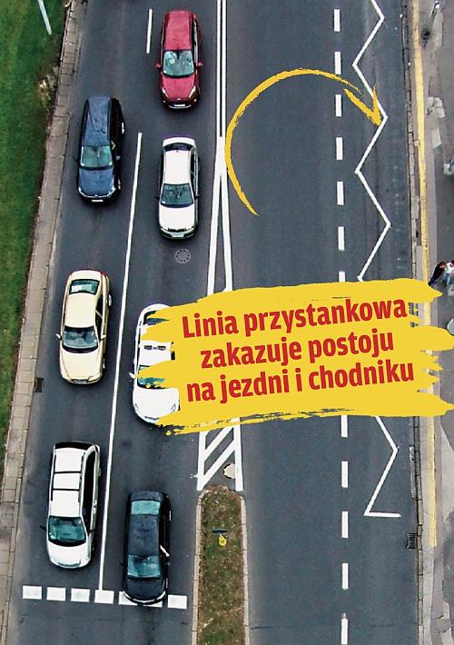 linia wyznaczająca przystanek /Motor