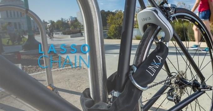Linka - innowacyjne zapięcie do roweru /materiały prasowe