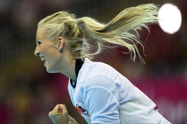 Linn Jorum Sulland zdobyła dla Norwegii 10 bramek. /AFP
