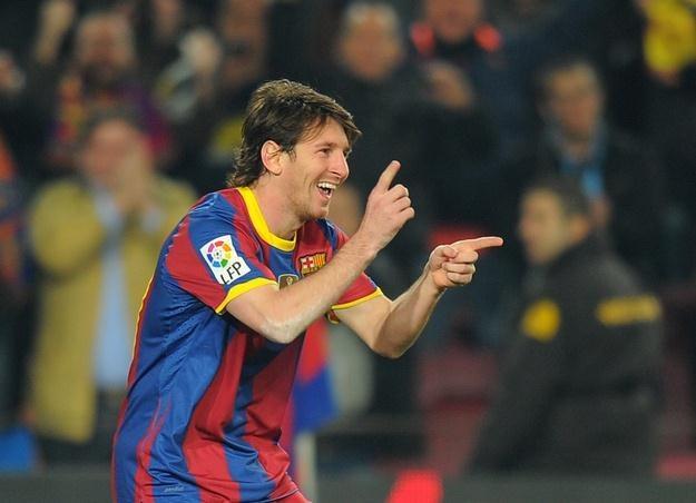 Lionel Messi (FC Barcelona), najlepszy piłkarz świata. /AFP