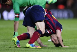 Lionel Messi, lider Barcelony