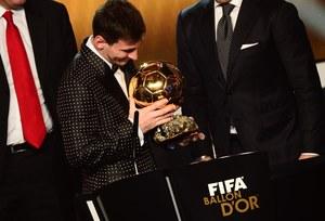Lionel Messi nagrodzony Złotą Piłką