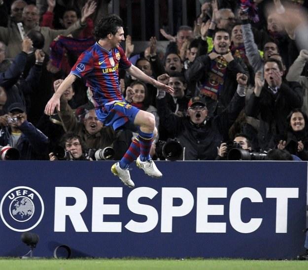 Lionel Messi potwierdził, że jest najlepszym piłkarzem świata! /AFP