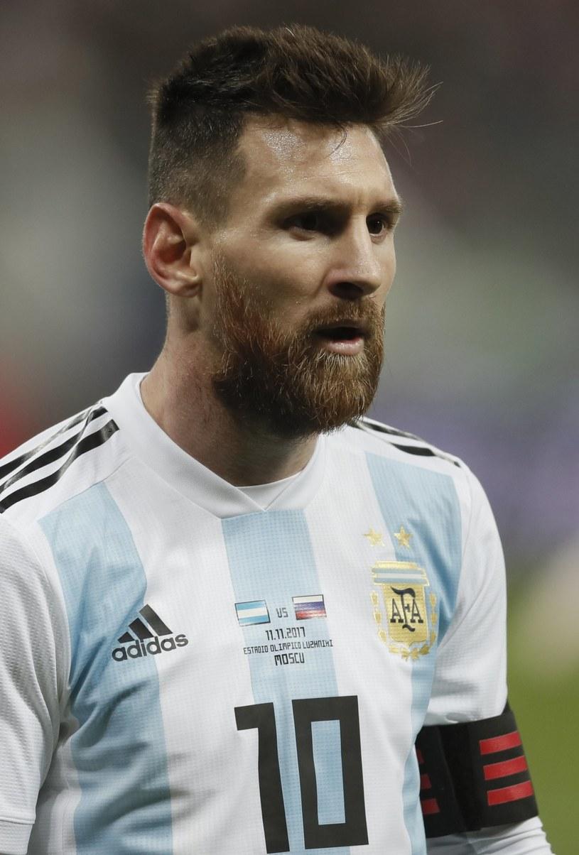 Lionel Messi /YURI KOCHETKOV /IAR/PAP