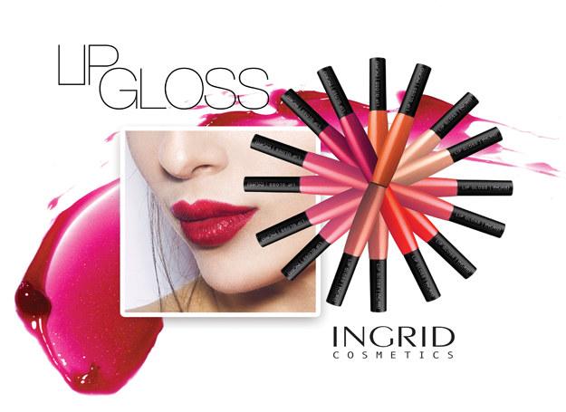 Lip gloss by INGRID /materiały prasowe