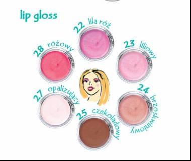 Lip gloss /materiały promocyjne
