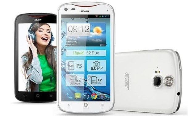 Liquid E2 - Acer jeszcze musi popracować nad smartfonami, chociaż ten debiut bynajmniej nie jest porażką /materiały prasowe