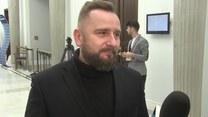 Liroy-Marzec (Kukiz15) o możliwych wariantach przebiegu obrad Sejmu (TV Interia)