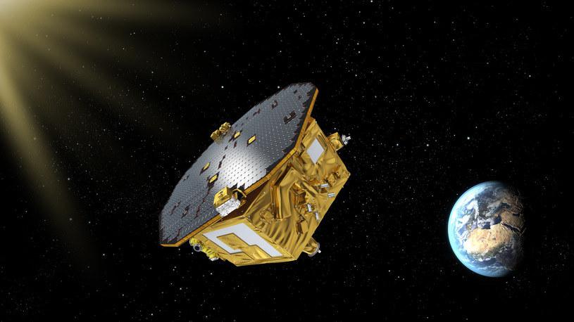 LISA Pathfinder w drodze do punktu L1 /materiały prasowe