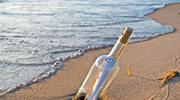 List w butelce przez 23 lata dryfował po morzu
