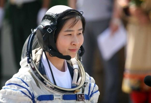 Liu Yang była pierwszą Chinką w kosmosie /AFP