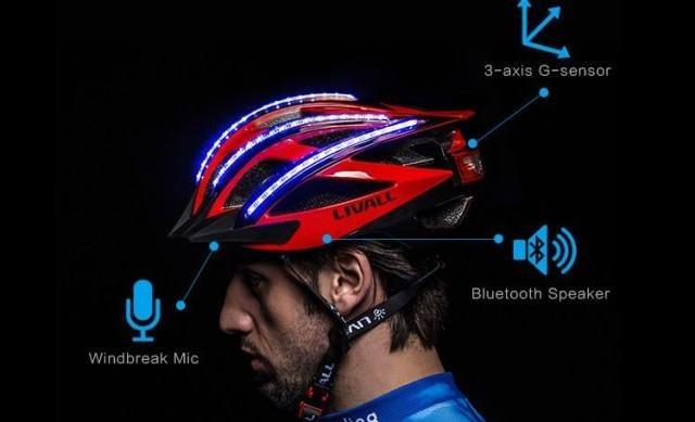 LIVALL Bling Helmet - inteligentny kask dla rowerzysty /materiały prasowe