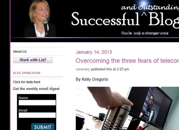Liz Straus jest jedną z najbardziej wpływowych blogerek /INTERIA.PL