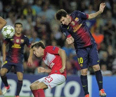 LM: FC Barcelona - Spartak Moskwa 3-2