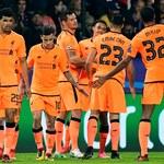 LM. Spartak - Sevilla 5-1. Maribor - Liverpool 0-7