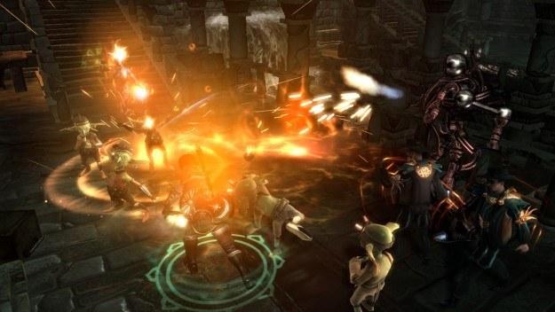 Lochy, smoki i czary to typowe cechy gry z serii Dungeons Siege /Informacja prasowa