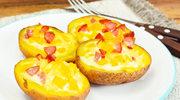 Łódki z serem brie i kiełbaską