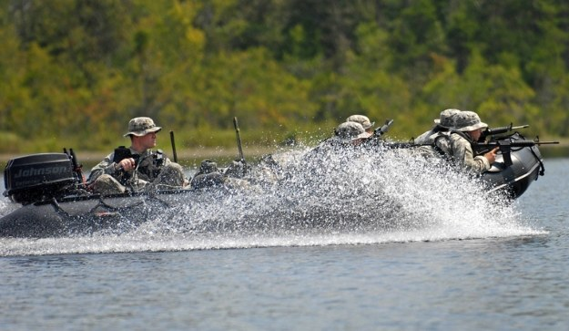 Łódź wykorzystywana przez amerykańską piechotę. Fot. defense.gov /materiały prasowe