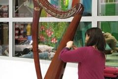 Łodzianie mogli spróbować gry na wyjątkowym instrumencie